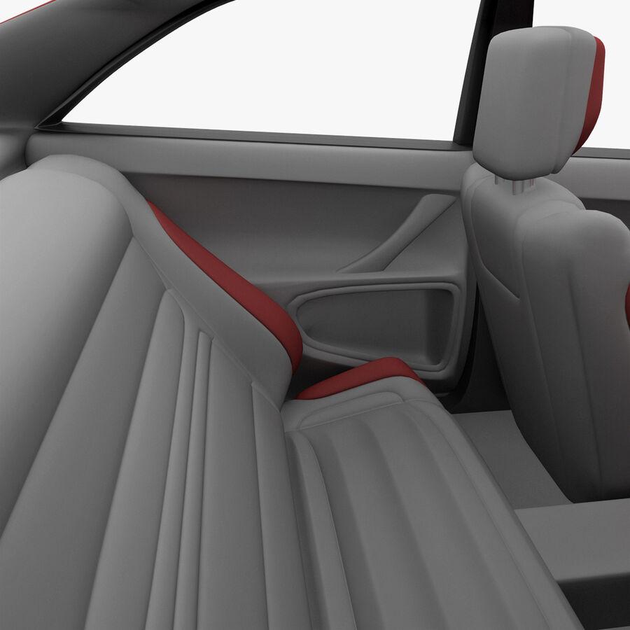 Toyota Camry 2012 Pace Car aparejado royalty-free modelo 3d - Preview no. 27