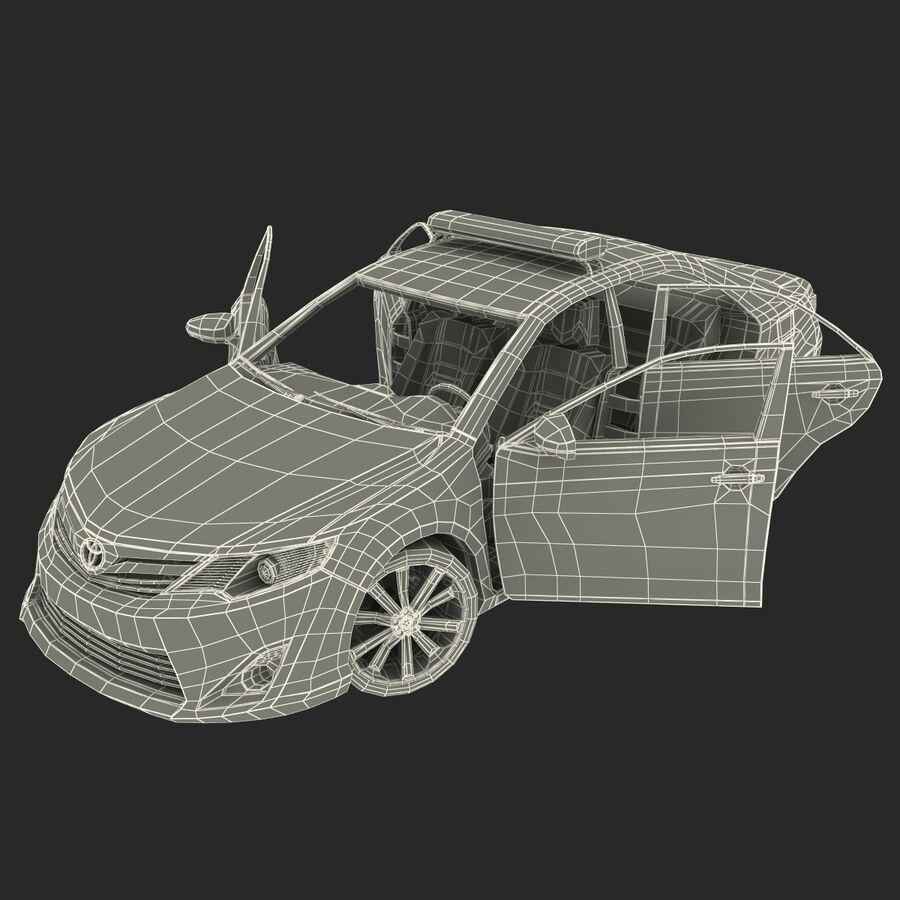 Toyota Camry 2012 Pace Car aparejado royalty-free modelo 3d - Preview no. 75