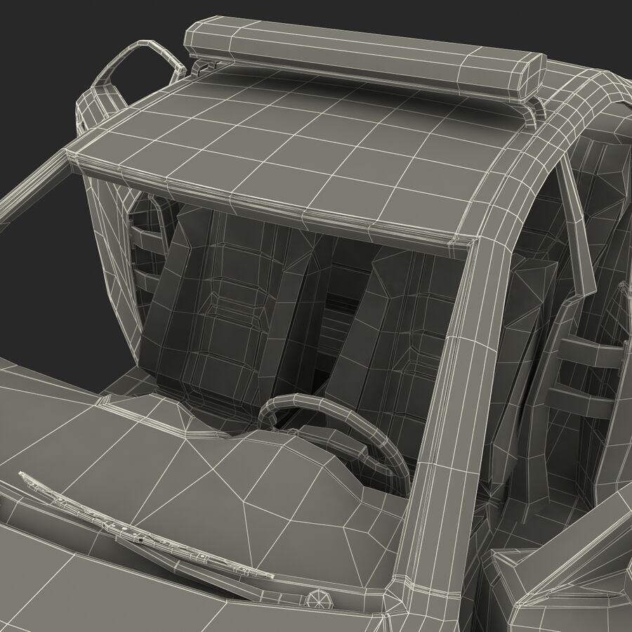 Toyota Camry 2012 Pace Car aparejado royalty-free modelo 3d - Preview no. 94