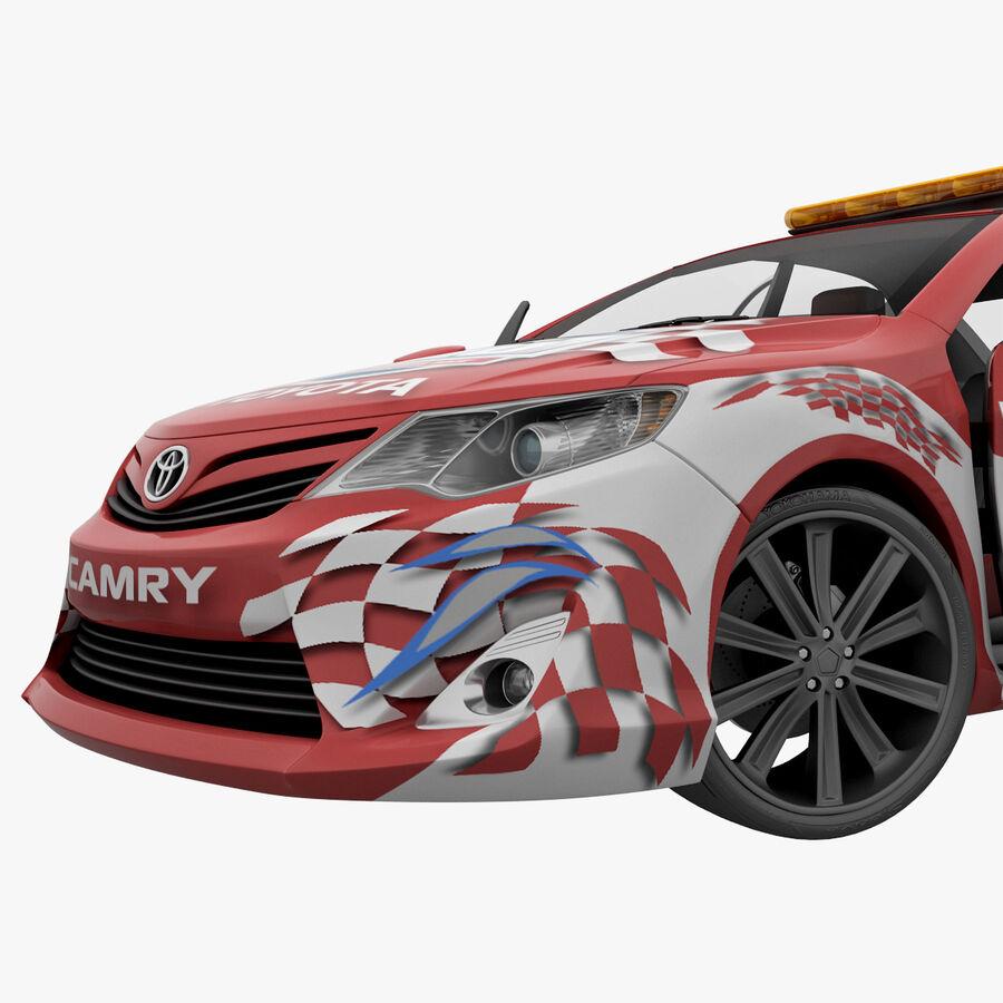 Toyota Camry 2012 Pace Car aparejado royalty-free modelo 3d - Preview no. 65