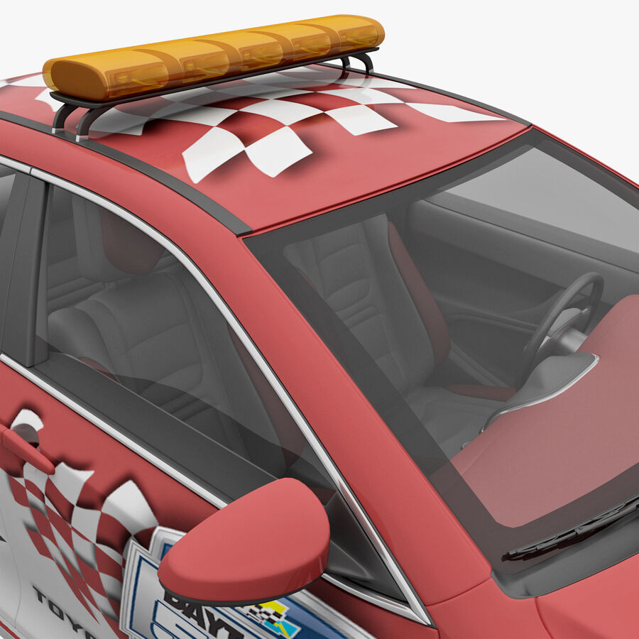 Toyota Camry 2012 Pace Car aparejado royalty-free modelo 3d - Preview no. 22
