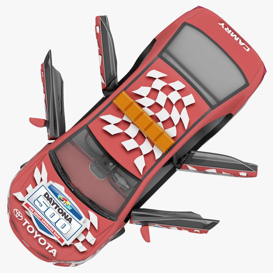 Toyota Camry 2012 Pace Car aparejado royalty-free modelo 3d - Preview no. 42