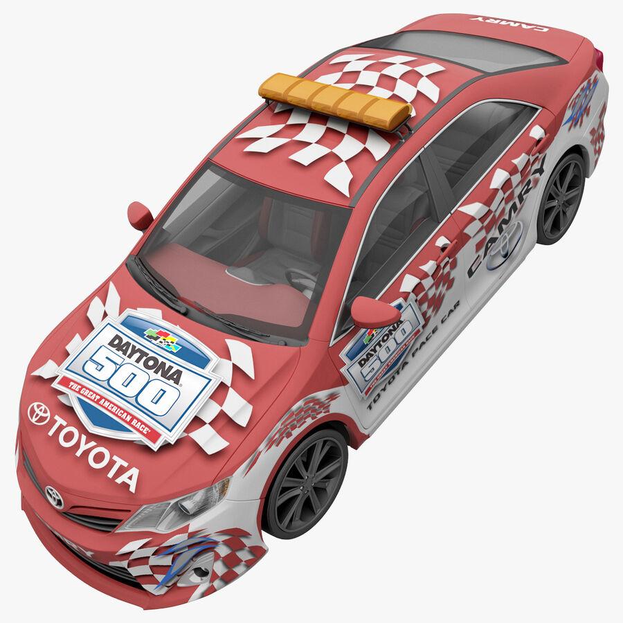 Toyota Camry 2012 Pace Car aparejado royalty-free modelo 3d - Preview no. 17