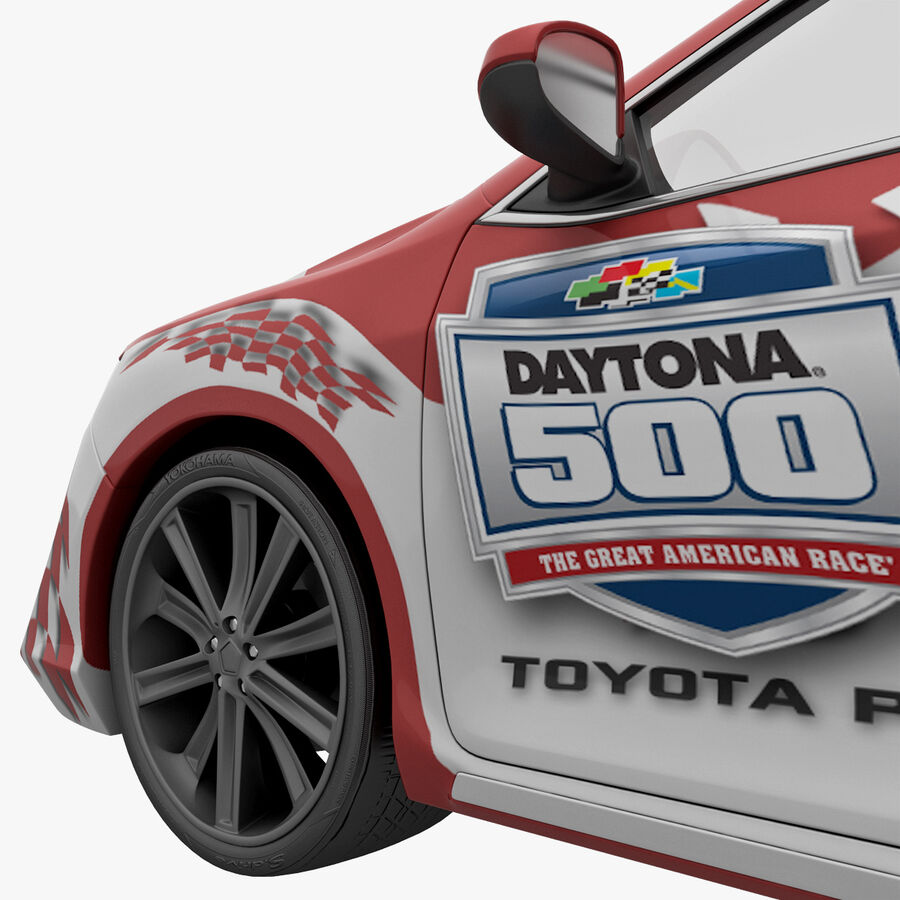 Toyota Camry 2012 Pace Car aparejado royalty-free modelo 3d - Preview no. 21