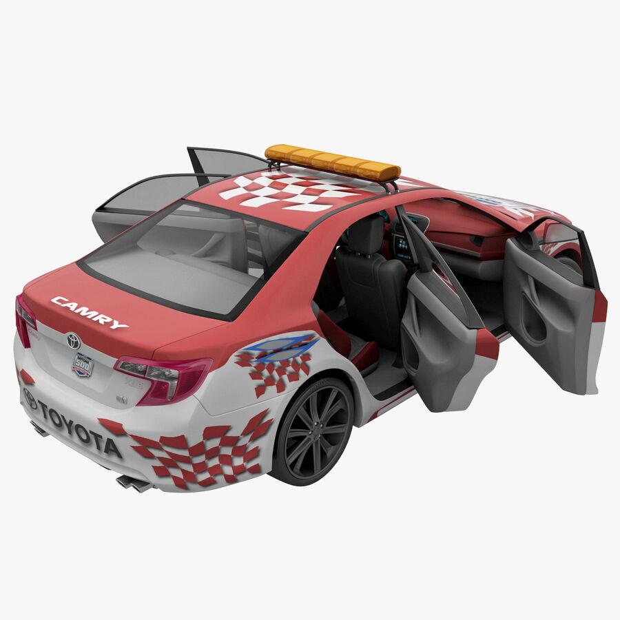 Toyota Camry 2012 Pace Car aparejado royalty-free modelo 3d - Preview no. 34