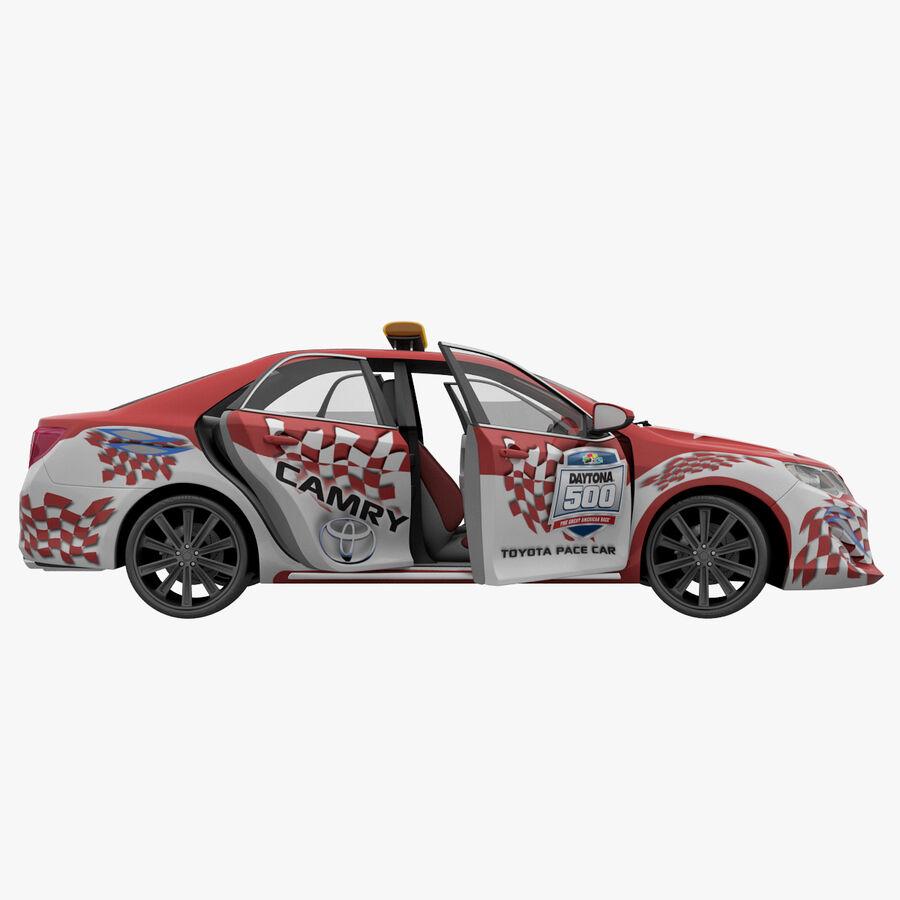 Toyota Camry 2012 Pace Car aparejado royalty-free modelo 3d - Preview no. 35