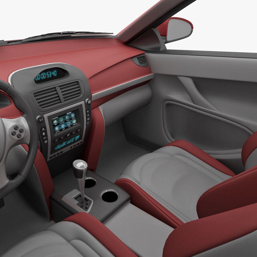 Toyota Camry 2012 Pace Car aparejado royalty-free modelo 3d - Preview no. 25
