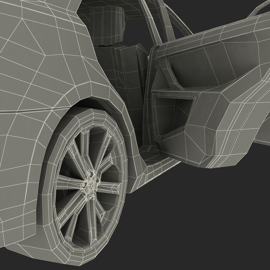 Toyota Camry 2012 Pace Car aparejado royalty-free modelo 3d - Preview no. 81