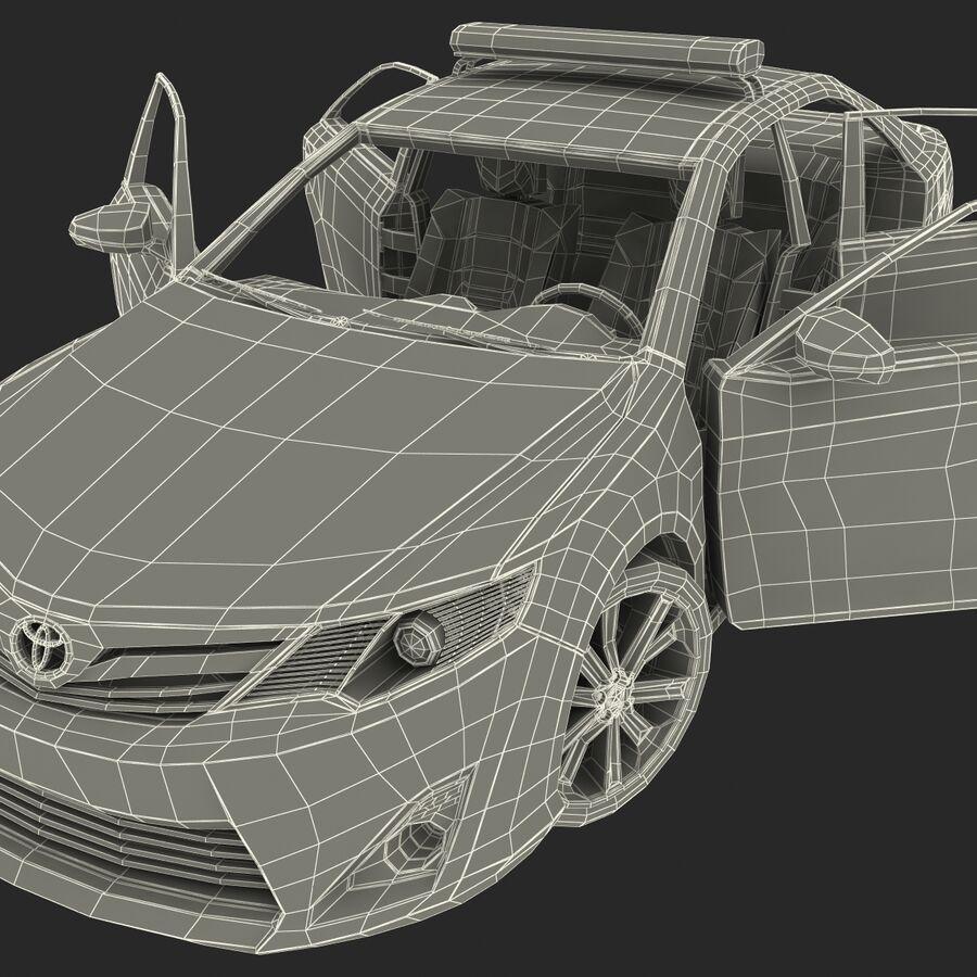 Toyota Camry 2012 Pace Car aparejado royalty-free modelo 3d - Preview no. 79
