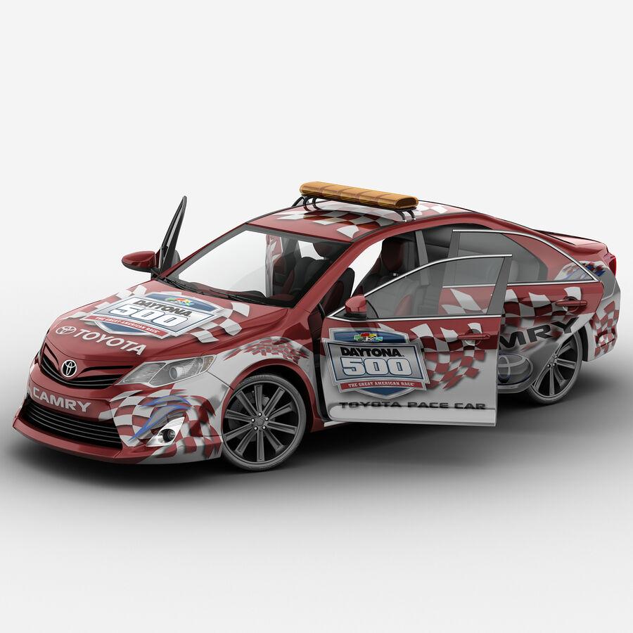 Toyota Camry 2012 Pace Car aparejado royalty-free modelo 3d - Preview no. 2