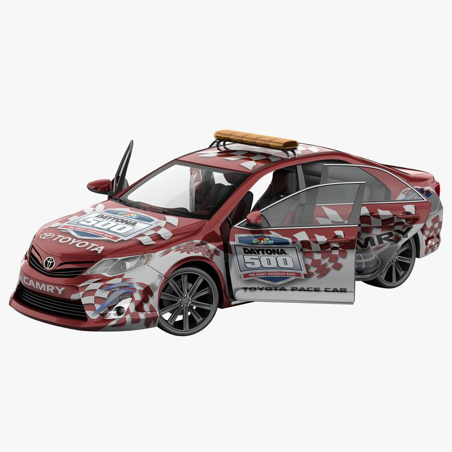 Toyota Camry 2012 Pace Car aparejado royalty-free modelo 3d - Preview no. 1