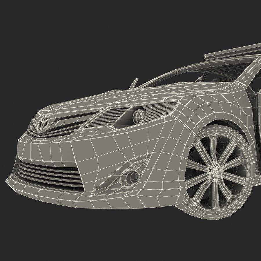Toyota Camry 2012 Pace Car aparejado royalty-free modelo 3d - Preview no. 87