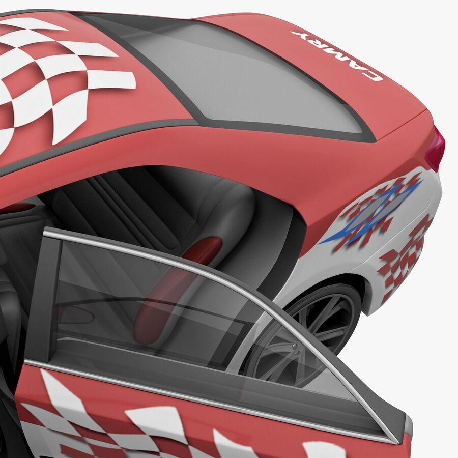 Toyota Camry 2012 Pace Car aparejado royalty-free modelo 3d - Preview no. 67