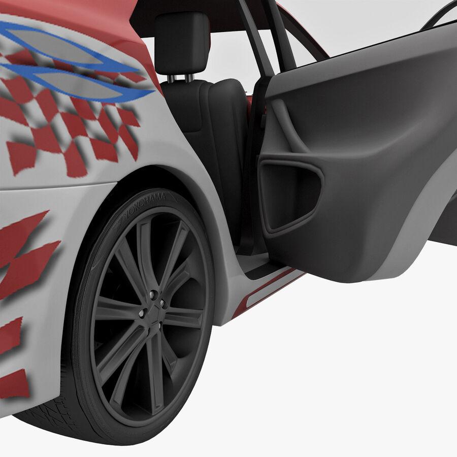 Toyota Camry 2012 Pace Car aparejado royalty-free modelo 3d - Preview no. 51
