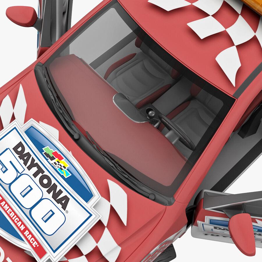 Toyota Camry 2012 Pace Car aparejado royalty-free modelo 3d - Preview no. 59