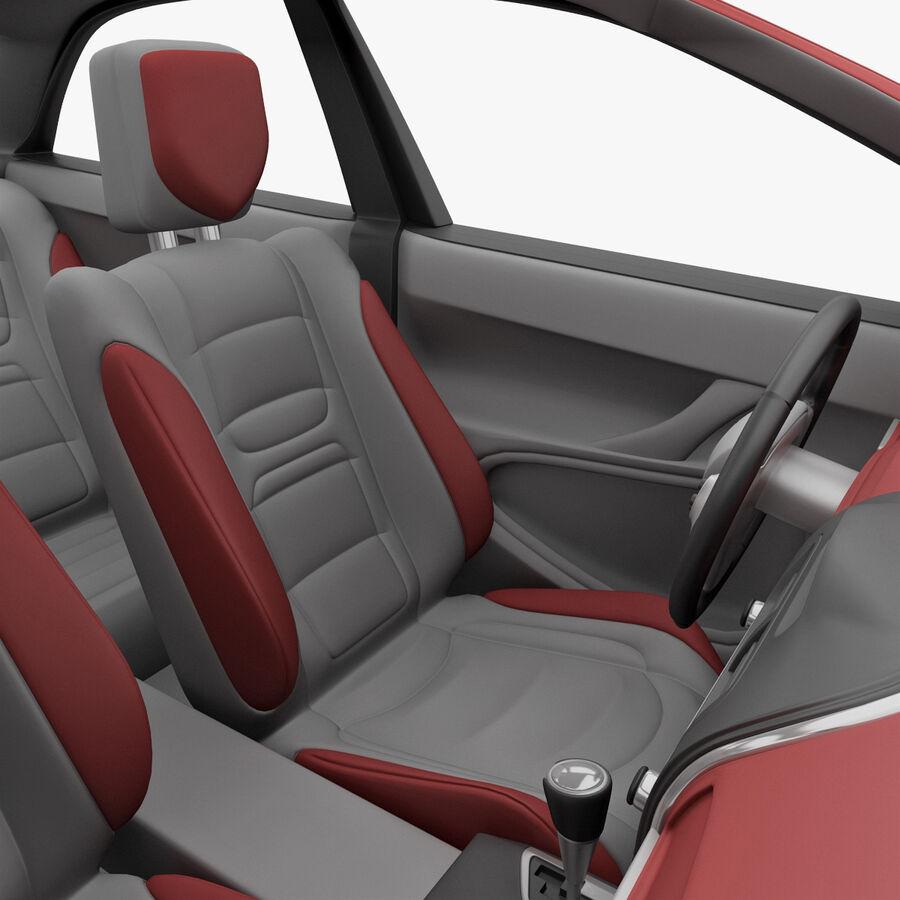 Toyota Camry 2012 Pace Car aparejado royalty-free modelo 3d - Preview no. 26