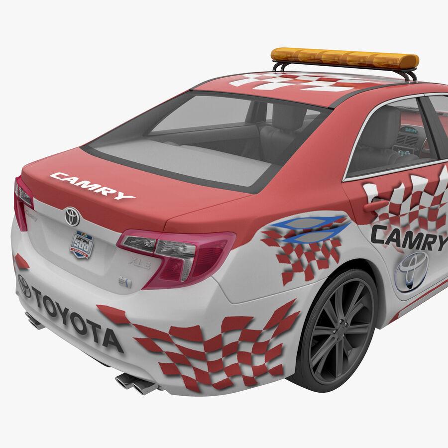 Toyota Camry 2012 Pace Car aparejado royalty-free modelo 3d - Preview no. 10