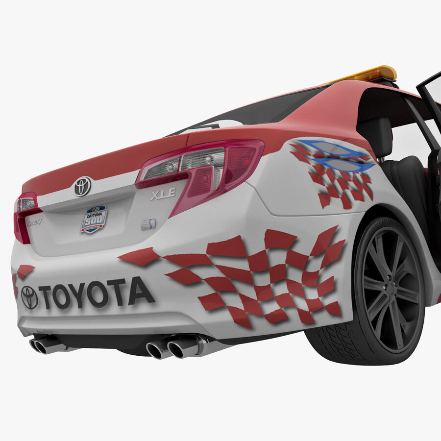 Toyota Camry 2012 Pace Car aparejado royalty-free modelo 3d - Preview no. 58