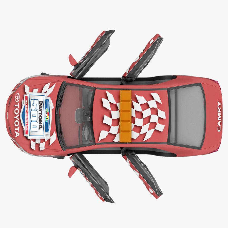 Toyota Camry 2012 Pace Car aparejado royalty-free modelo 3d - Preview no. 55
