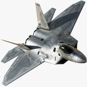 F-22A Lite 3d model