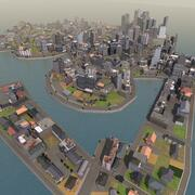Race City Island 3d model