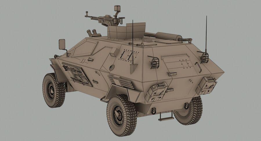 Otokar Cobra Armored Vehicle royalty-free 3d model - Preview no. 15