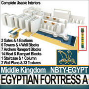 Egyptian Fortress A Middle Kingdom 3d model