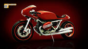 Bike concept 90 - turbo smooth - level 2 - polys 1094913 - verts 601103 - max 2008 формат 3d model