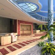 Garden Hall 3d model