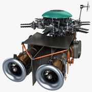 Silnik helikoptera 2 3d model