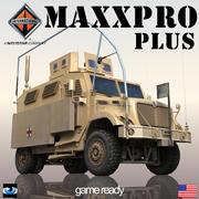 インターナショナルMaxxPro PLUS 3d model