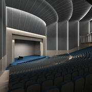 Theater N 3d model