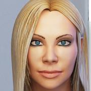 Woman Head 3d model
