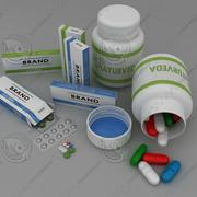 Medicine Collection 3d model
