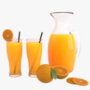 Orange Juice 3d model