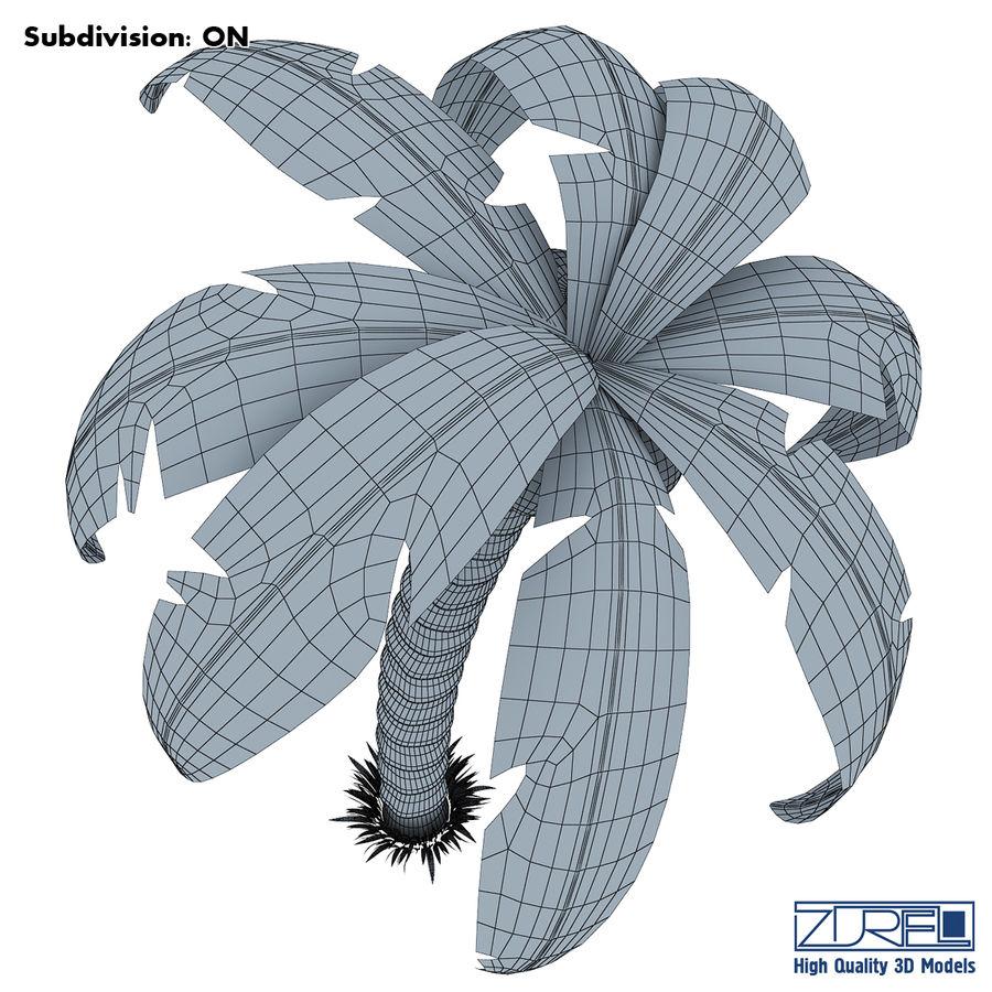 Palmiye royalty-free 3d model - Preview no. 8
