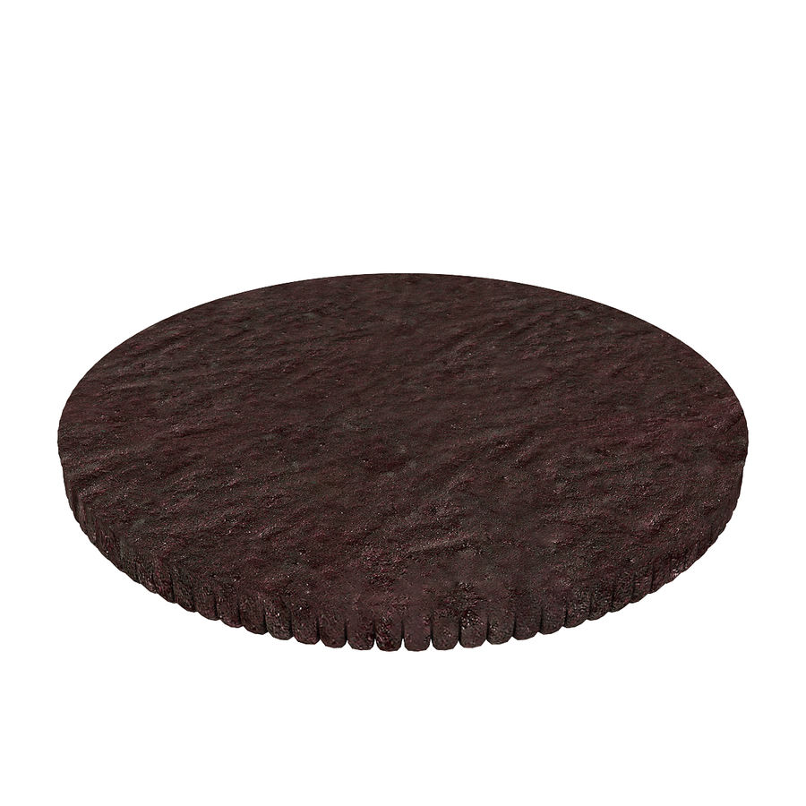 Oreo Cookie royalty-free 3d model - Preview no. 3