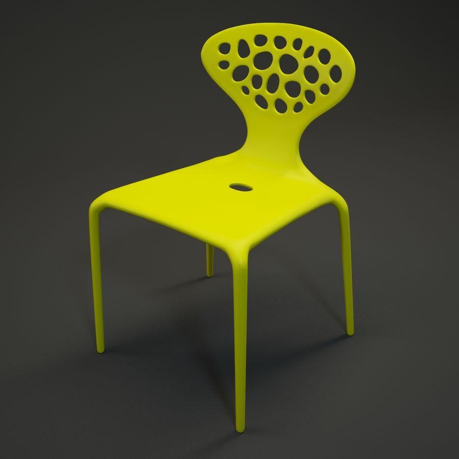 Bovennatuurlijke stoel royalty-free 3d model - Preview no. 3
