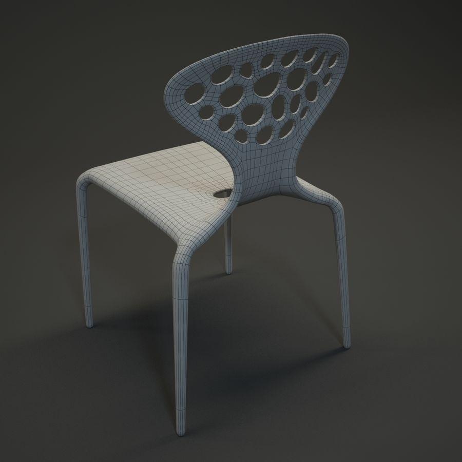 Bovennatuurlijke stoel royalty-free 3d model - Preview no. 9