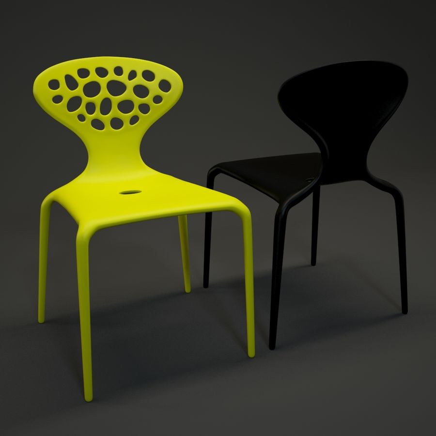 Bovennatuurlijke stoel royalty-free 3d model - Preview no. 1