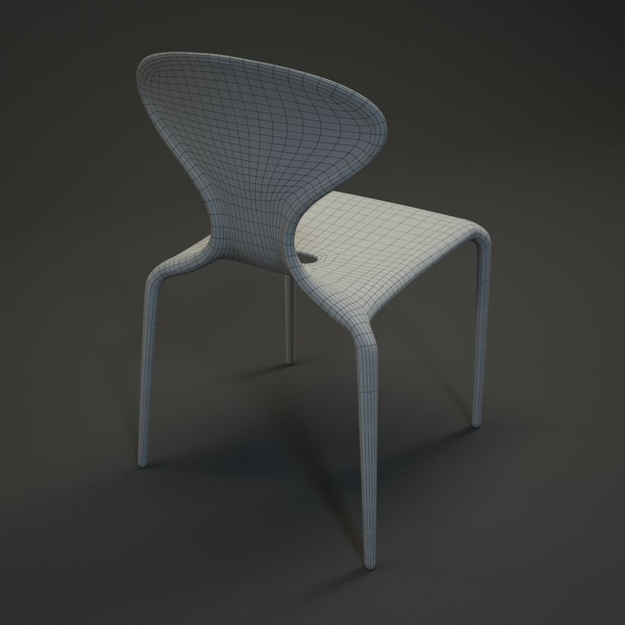 Bovennatuurlijke stoel royalty-free 3d model - Preview no. 11