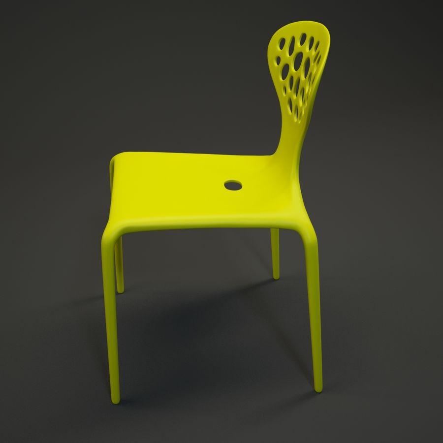Bovennatuurlijke stoel royalty-free 3d model - Preview no. 4