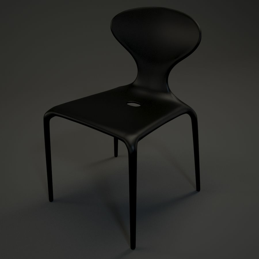 Bovennatuurlijke stoel royalty-free 3d model - Preview no. 6