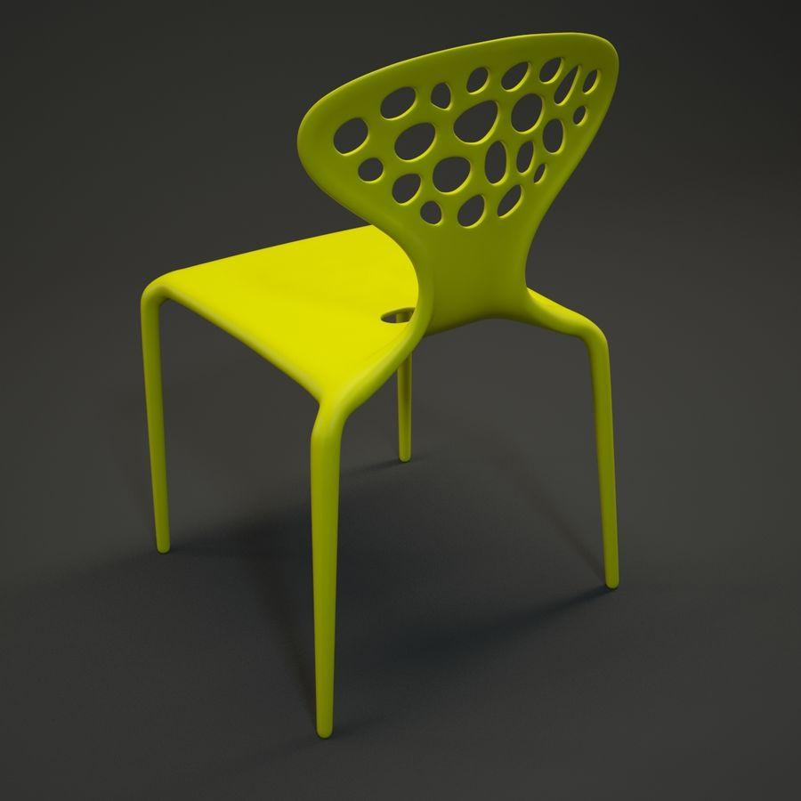 Bovennatuurlijke stoel royalty-free 3d model - Preview no. 5