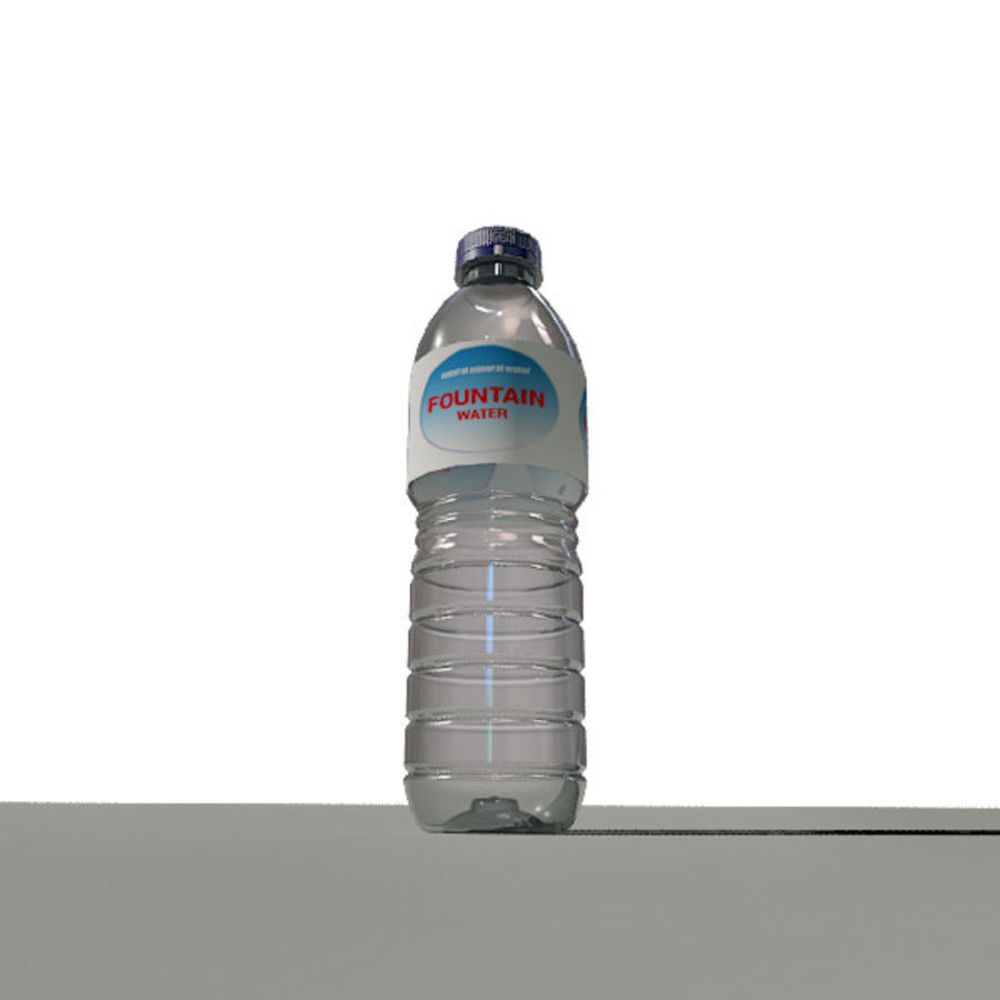 Garrafa de Água / Garrafa Água royalty-free 3d model - Preview no. 3