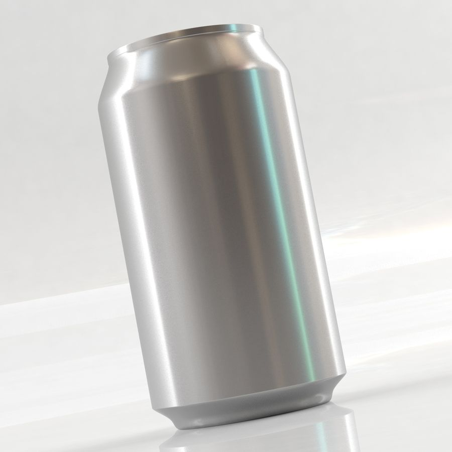 Can soda drink 004(1) royalty-free 3d model - Preview no. 5