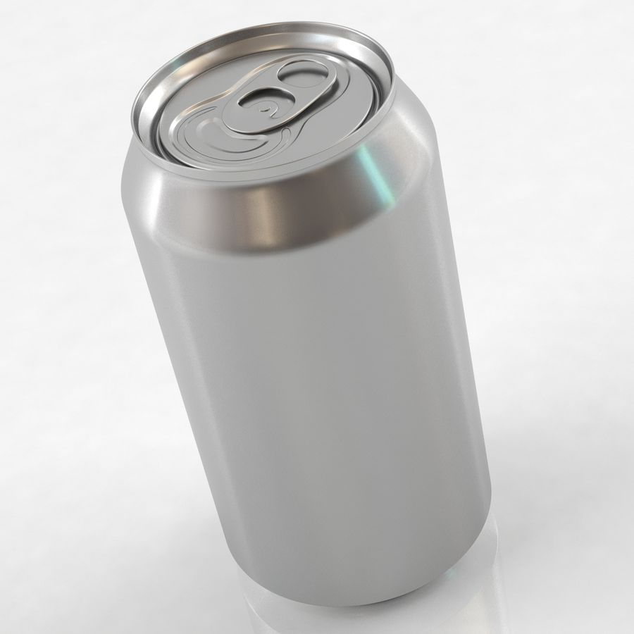 Can soda drink 004(1) royalty-free 3d model - Preview no. 2