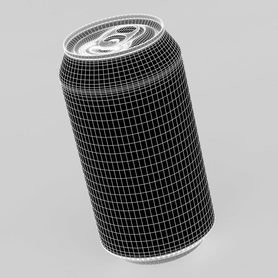 Can soda drink 004(1) royalty-free 3d model - Preview no. 6