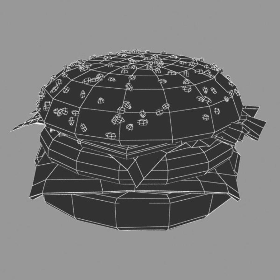 バーガー royalty-free 3d model - Preview no. 5