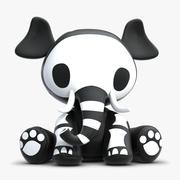 Skelanimal Elle Elephant Toy 3d model